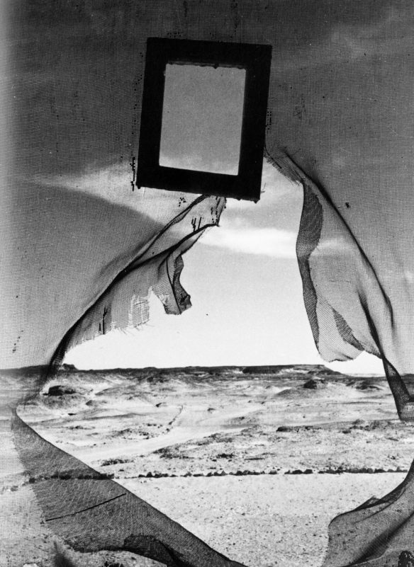Lee Miller, Portrait of Space, 1937. Gelatin silver print. 13.3 x 12.4 cm.